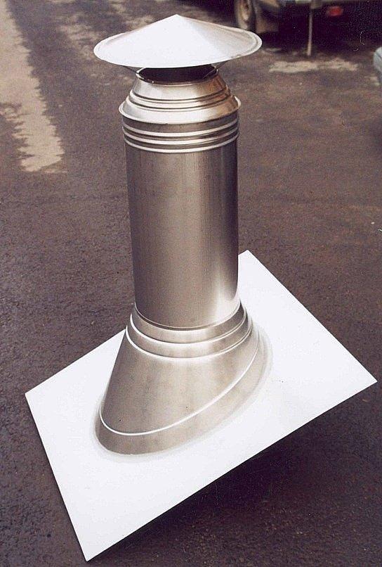 пример дымохода установка под ключ 1