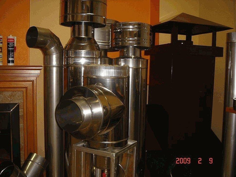 пример дымохода установка под ключ 4
