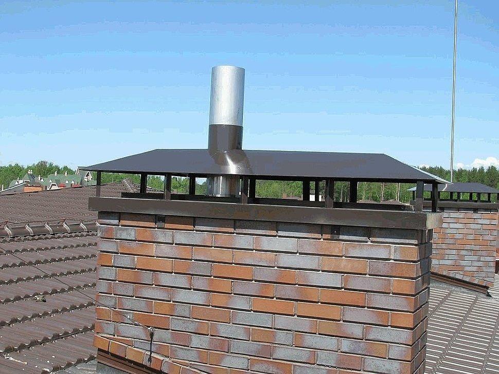 пример дымохода установка под ключ 5